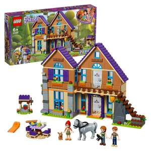LEGO 41369 Friends Mia's House Set, 3 mini-dolls Rabbit and Horse Figures, Build and Play Dollhouse Toys for Kids - £34.99 @ Amazon