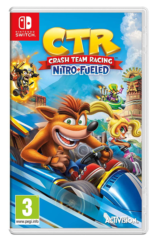 Crash Team Racing Nitro Fueled (Nintendo Switch) £22.99 Delivered @ Amazon