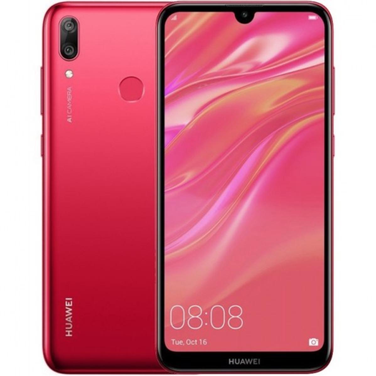 Huawei Y7 Pro 2019 3GB/32GB Dual Sim Red - £117.99 - eglobalcentraluk