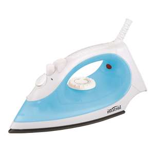 Powerbase Steam Iron 1300W £5 delivered @ Homebase