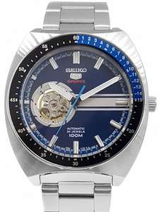 Seiko 5 Sports Automatic 24 Jewels Open Heart SSA327K1 44mm Men's Watch 4R38, 100M WR, Hardlex, £119 With Code @ Creation Watches