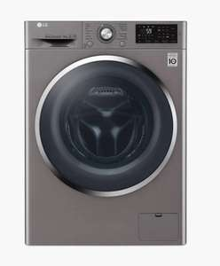 LG F4J6AM2S Freestanding Washer Dryer, 8kg Wash/4kg Dry Load, A Energy Rating, 1400rpm Spin, Shiny Steel £499 at John Lewis & Partners