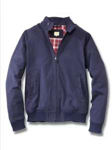 Men's Blue Harrington Style VW Beetle Jacket Now £14.99 @ Partsdepot_uk / eBay