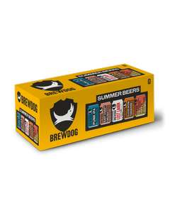 BrewDog summer selection pack 10 x 330ml cans £12 at Morrisons instore