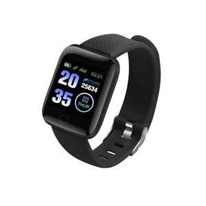 Smart Bracelet With Heart rate Monitor / Blood Pressure / Fitness Tracker £5.44 Delivered at Gearbest