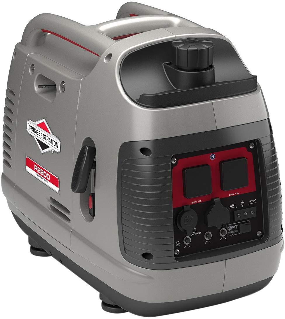 Briggs & Stratton Petrol Portable Inverter Generator PowerSmart Series P2200 £439 @ Amazon