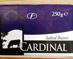 250g Salted Butter  £1.25 or 2 for £2 @ Heron Foods