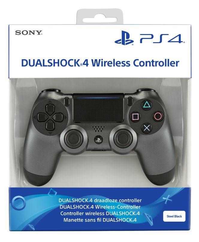 DualShock 4 Controller V2 (Steel Black, Camo, Red, Blue, White, Black) £34.85 Delivered @ Shopto