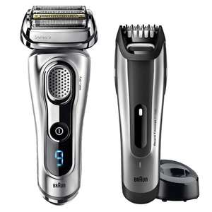 Braun Series 9 9260VS Wet & Dry Shaver With + BT5090 Beard Trimmer & Case for £119.89 delivered @ Costco