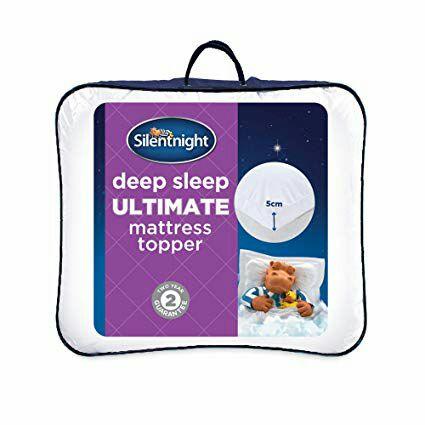Silentnight Ultimate Deep Sleep Topper, White, Double £59 at Amazon