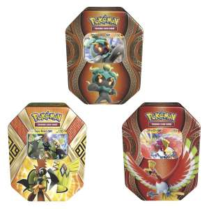 Pokemon Tin Assortment Collectors Edition With Tapu Koko GX, Marshadow GX and Ho-Oh GX 3 pack £19.99 / £23.98 inc vat at Costco instore