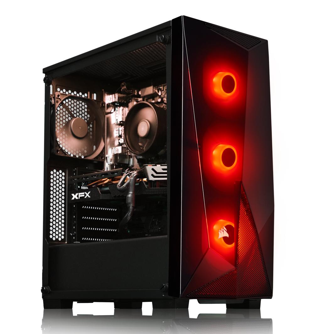 AWD DELTA Ryzen 5 3600 Six Core 4.2GHz RX 590 OC 8GB 240SSD Desktop Gaming PC, (No OS), £599.99 at AWD-IT