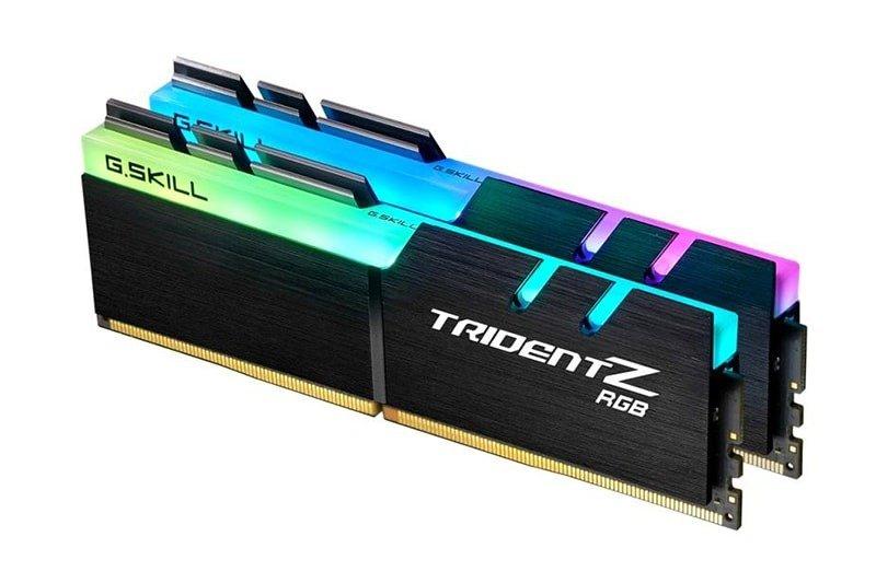 G.Skill Trident Z RGB 16GB (2x8GB) Memory Kit DDR4 3600MHz C18, £112.76 at Amazon