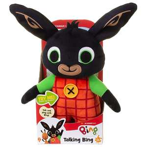 Talking Bing Soft Toy for £9.97 @ George (free click & collect)