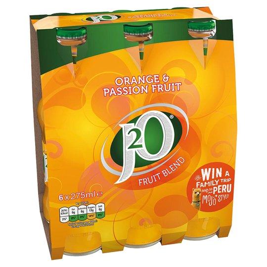 J20 6x275ml All Flavors £2.75 @ Tesco