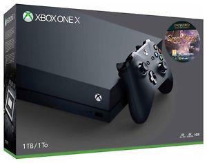 Microsoft Xbox One X 1TB Sea of Thieves Console Bundle - Refurbished £253.99 @ Argos