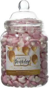 Mr Tubbys Jelly Mushrooms - Happy Birthday Gold Label - Large Jar 1200g(Pack of 1)