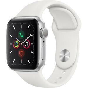 Apple Watch Series 5 40mm (GPS) Silver Aluminium Case - £374 / 44mm Silver or Gold Aluminium Case - £404 Delivered with code @ AO/eBay