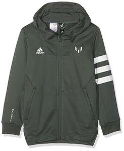adidas Children's Messi Hooded Tracksuit Jacket - Age 5-6 - £8.76 (Prime or + £4.49 Non Prime) @ Amazon