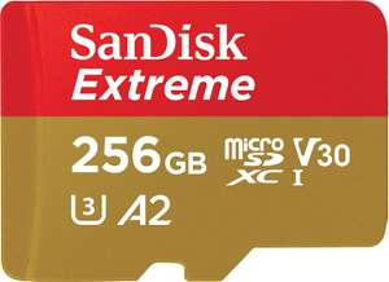 Sandisk Extreme 256GB Micro SD Card £55.99 @ Amazon