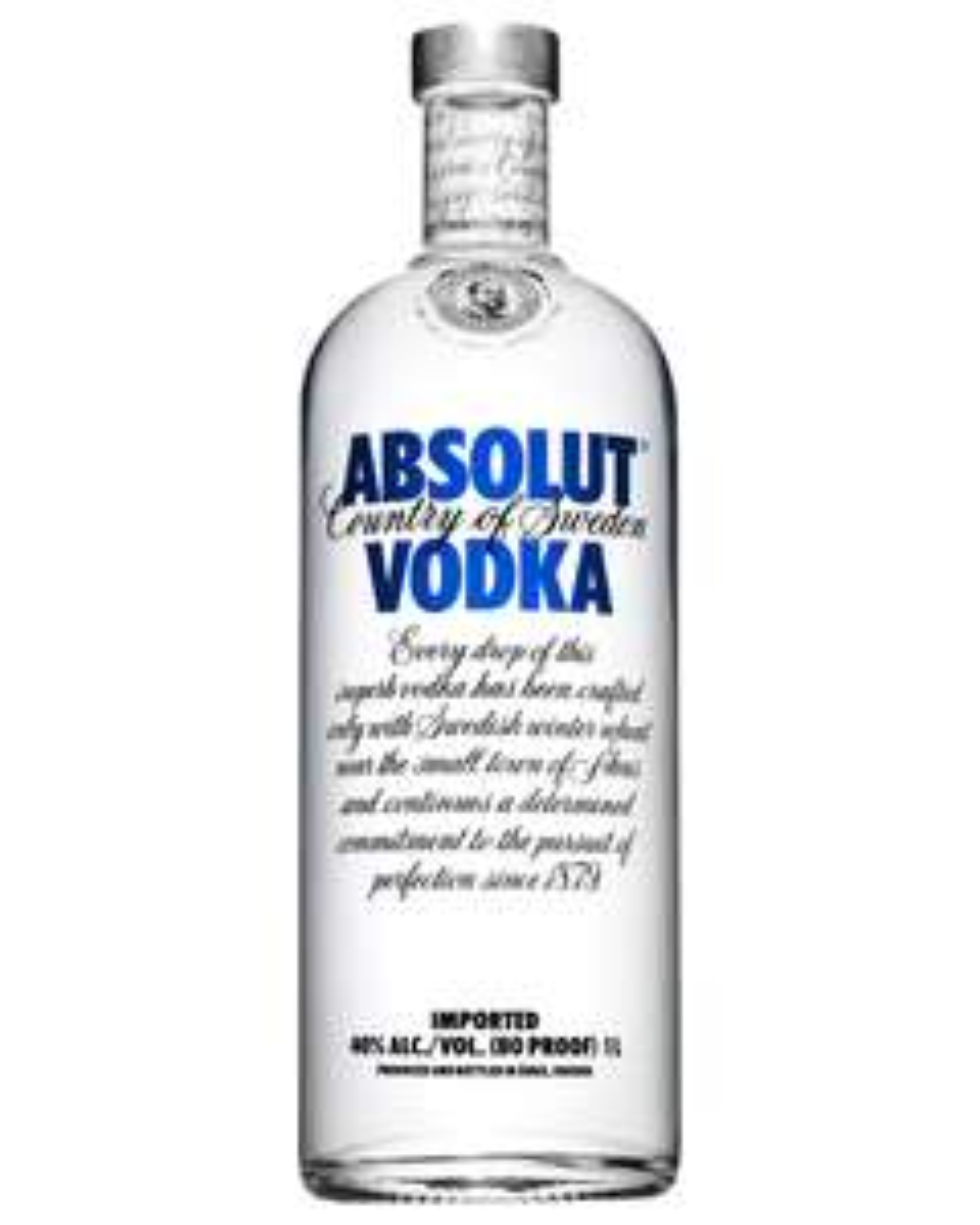 Sainsbury's - Absolut Vodka 1l - £20 was £25