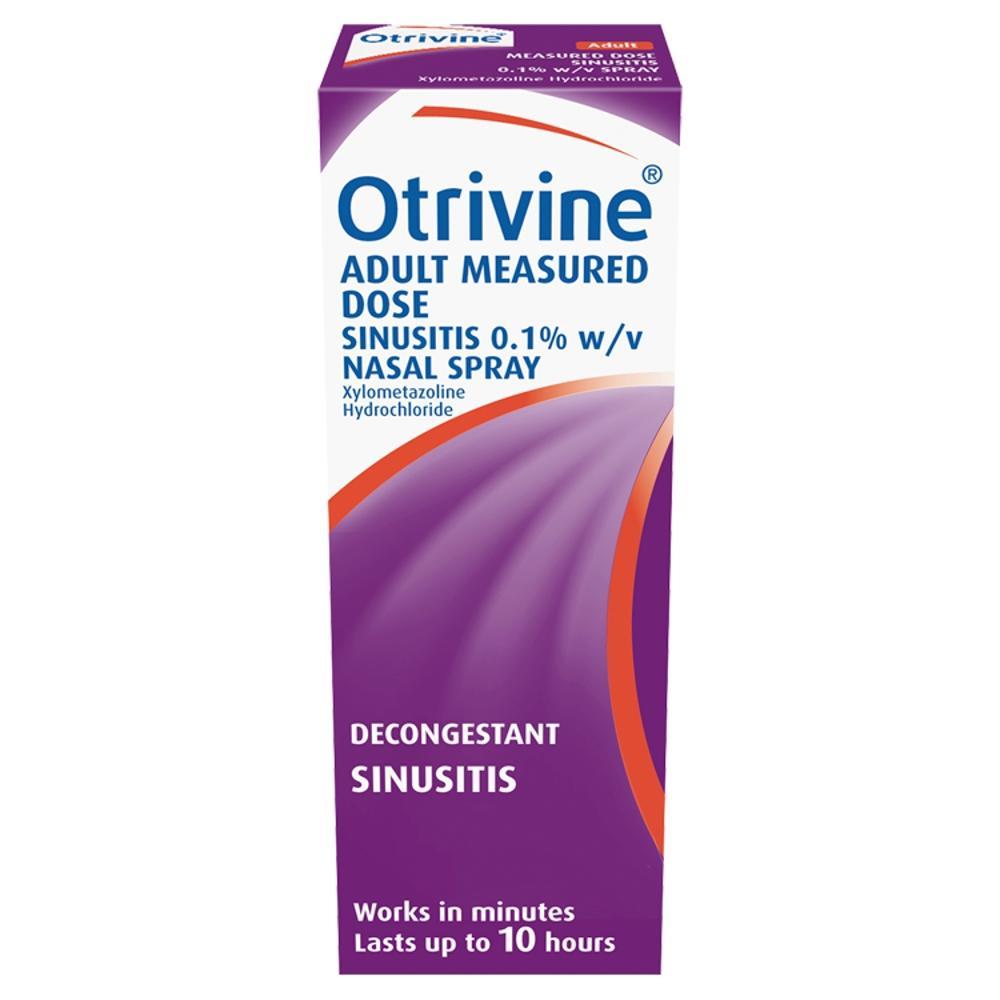 Otrivine 0.1% Sinusitis Spray - £1.32 instore @ Tesco