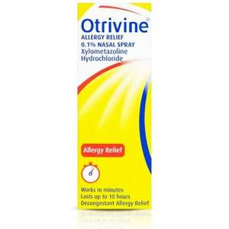 Otrivine 0.1% Allergy Relief Spray - £1.10 instore @ Tesco