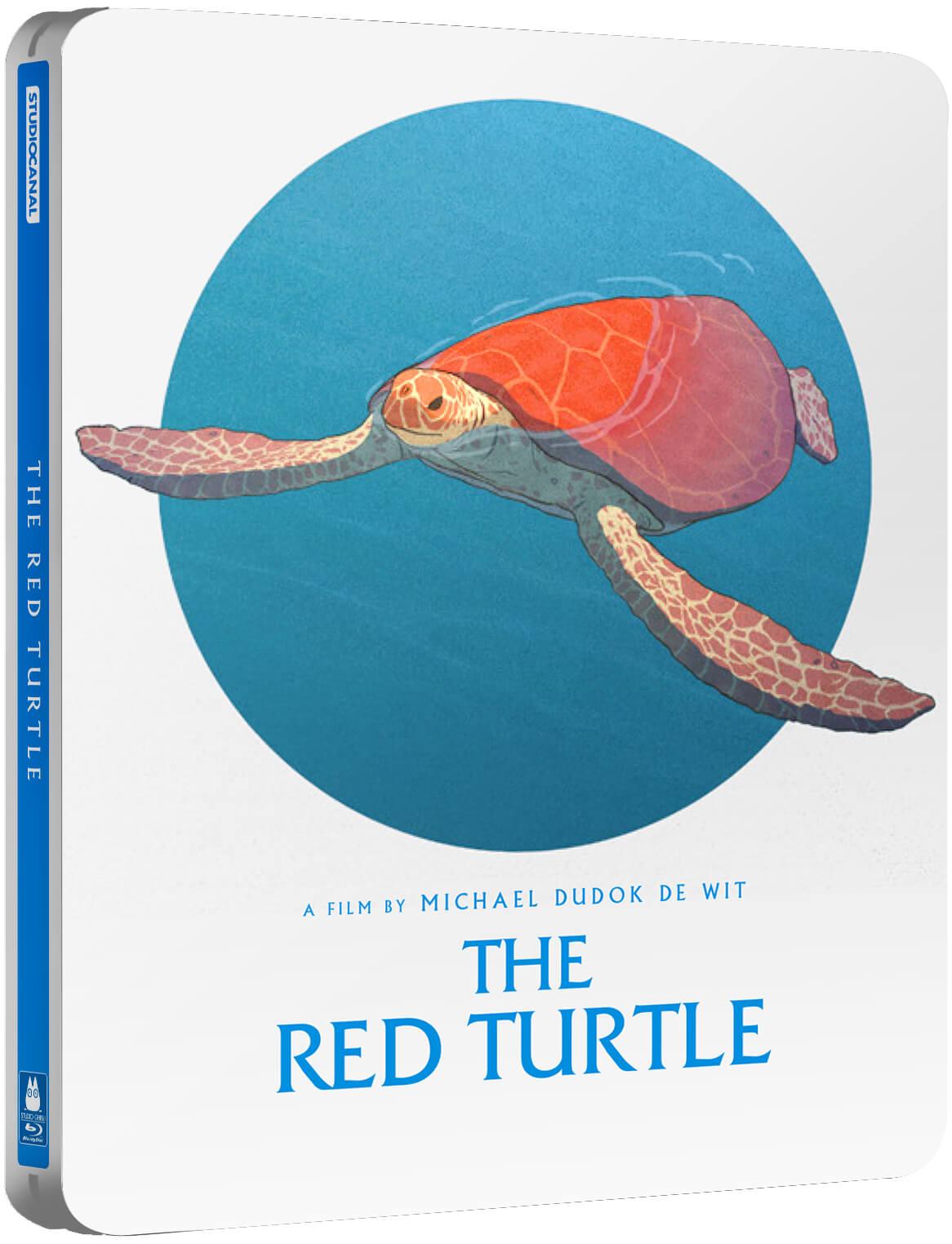 Studio Ghibli The Red Turtle Steelbook £6.99 + £1.99 Delivery @ Zavvi