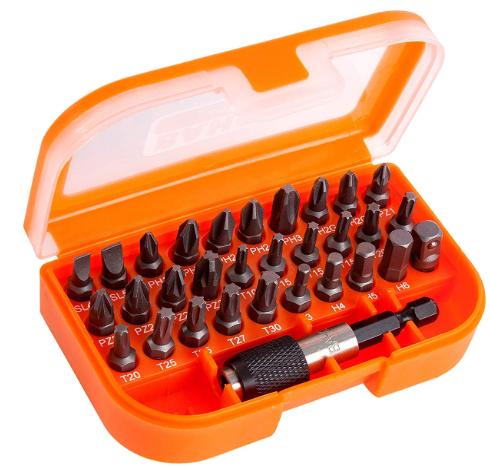 Bahco 31 Pieces BH59/S31B, Orange/Black - £8 (prime) / £12.49 (non prime) @ Amazon