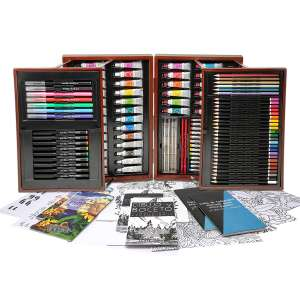 Art 101 All Media Artist Set - 154 Pieces £19.99 @ Costco
