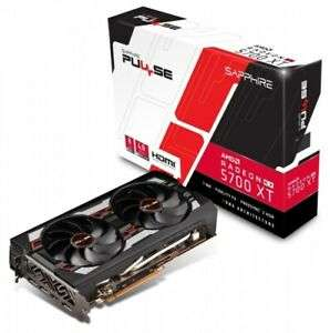 Sapphire Radeon RX 5700 XT 8GB Pulse - £396.75 delivered @ cclcomputers Ebay using code POUNDSOFF