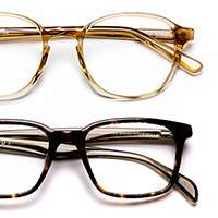 Two pairs of prescription glasses from Glasses Direct for £16 inc P&P using code