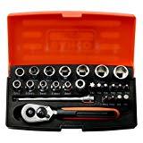 Bahco SL25 Socket Set 25 Piece 1/4 Inch Drive £18.40 (Prime) £22.89 (Non Prime) @ Amazon
