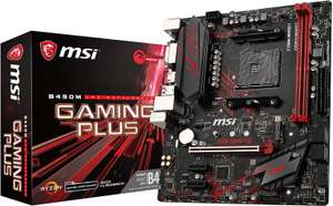 MSI B450M Gaming Plus Socket AM4/B450/DDR4/S-ATA 600/Micro ATX Motherboard - £72.99 @ Amazon