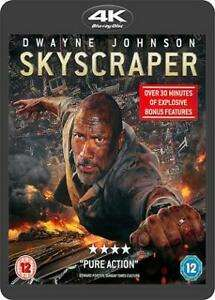 Skyscraper 4K Ultra HD Blu-Ray - 'Very Good condition' - £1.90 delivered @ cinemadiso/eBay