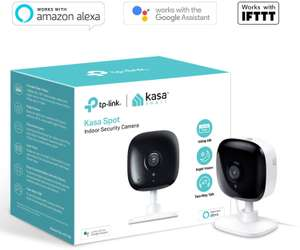 TP-Link Security Camera, Indoor CCTV, No Hub Required, 2-Way Audio with Night Vision - £29.99 @ Amazon