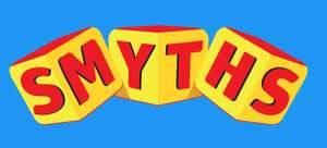 Free delivery for under £15 spend with Smyths Toys for account holders twice a year