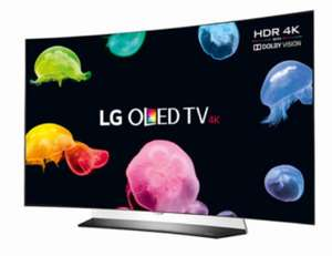 "LG OLED55C6V 55"" OLED Curved HDR 4K UHD Smart TV - NO 3D - Grade A Refurbished £625 delivered with code @ kcsoundandvision ebay"