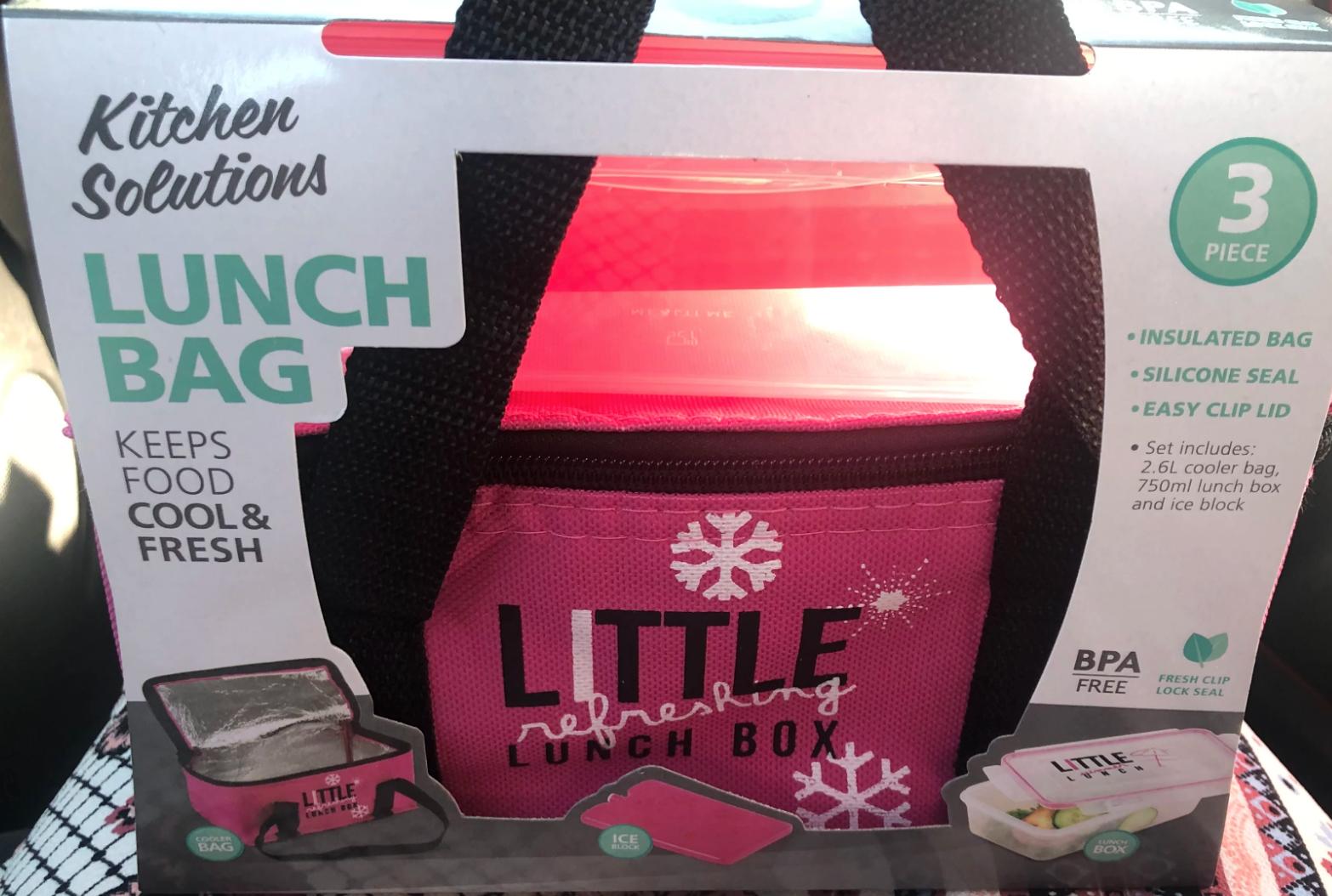 Kitchen Solutions Lunch Bag - £2.99 instore @ home bargains burnley