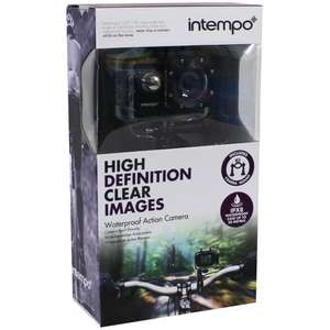 Intempo Waterproof Wide Angle IPX8 Action Camera - Black - £20 @ The Works Free C&C And Free Delivery.