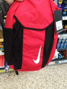 Half price on Nike backpack. Reduced to £10 from £20 at Tesco Royston.