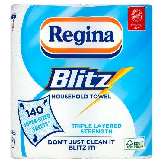 Regina Kitchen Towels Blitz 2 Rolls for £2 @ Tesco
