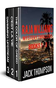 Save £10.90  -  Great Box Set - Raja Williams Mystery Thriller Series: Books 1- 3 Kindle Edition  - Free Download @ Amazon