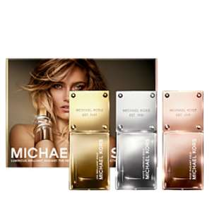 MICHAEL KORS Gold Collection Gift Set 3 x 30ml @ Escentual - now £31.88 with code (plus Free Delivery)