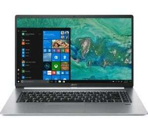 """Acer Swift 5 (15.6"""") Ultra-Thin Touch - Intel Core i5-8265U, Light-weight Magnesium Alloy Casing 990g, Backlit KB £598.97 @ Currys Ebay"""