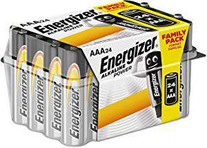 24x Energizer AAA Bateries - £4.38 @ Amazon Pantry - Prime Exclusive