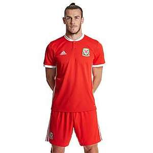 Official Wales 18/19 Men's Home & Away football shirts now £10 @ JD Sports (+£3.99 P&P)