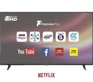 "JVC LT-65C880 65"" Smart 4K Ultra HD HDR LED TV (New) - £519 @ Currys eBay with code"