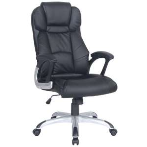 Brompton Office Chair - Black - £99.99 @ The Range (+£9.95)