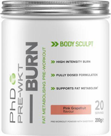PhD Pre-WKT Burn £3.20 @ UK Bodybuilding (+£2.99 P&P)